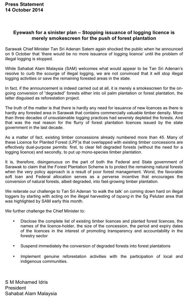 Microsoft Word - SAM Press Statement14Oct
