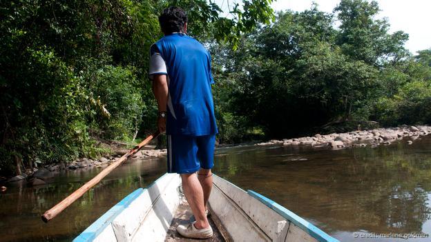 前往婆羅洲其中一個僅存的原始森林