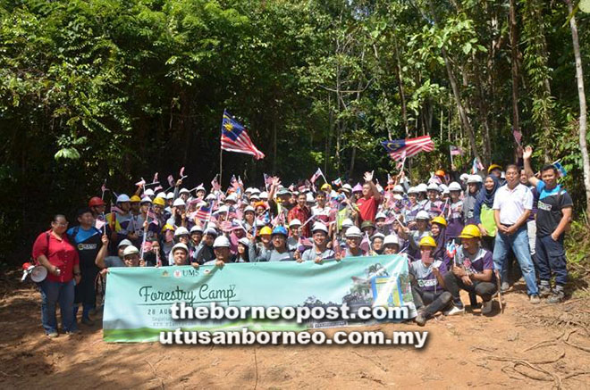 ums-holds-17th-forestry-camp-at-kts-plantation-in-segaliud-lokan-sandakan