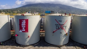 Direct Action at Wilmar Refinery in North Sulawesi